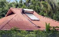 Cut power bills with a solar water heater