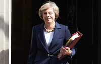 Britain's May to meet ministers amid reported moves to oust her