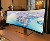 HP S430c 43.4-inch Curved Ultrawide monitor: This eye-popping 4K display controls two PCs at once
