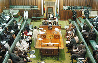 Roll call as MPs sign and dodge House