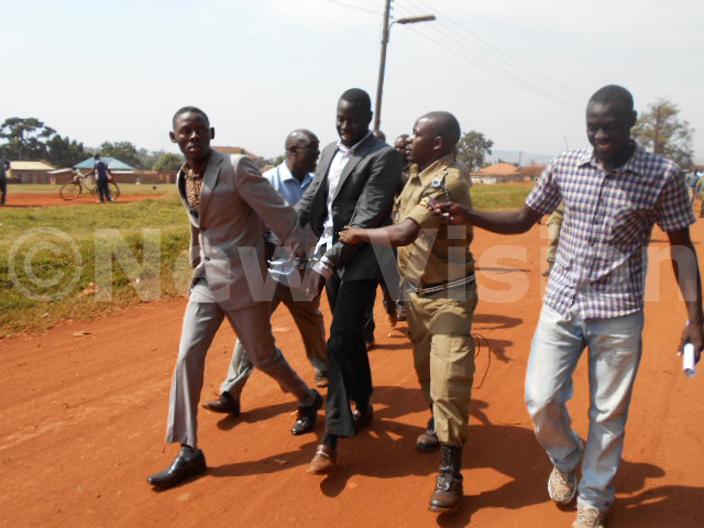 tuba in black court after arrest