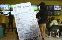 Coronavirus: East African gambling sales down 99%