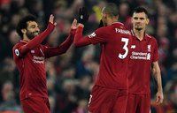 Liverpool open up six-point lead after 4-0 win