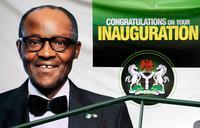 Buhari sworn in as Nigeria president after historic win