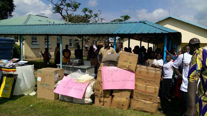 ome of the ayihura property ayihura donated