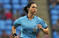 'Get in the kitchen!': life as a female football referee