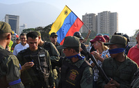 Venezuela says 'attempted coup' under way