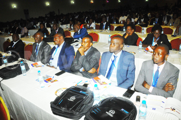 cross section of delegates attending the conference organized by the ganda  aw ociety at mperial esort otel unyonyo on  arch 30 2017hoto by ilfred anya