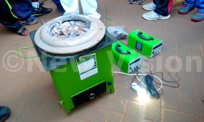 he ecostove can be used to charge a mobile phone and provide lighting