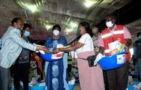 Pastor Ssenyonga donates relief food worth sh300m