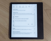 How to reset or restart your Kindle