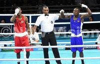 Commonwealth boxing: Uganda's Simbwa joins Bwogi in quarterfinals