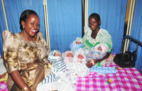 Meet Mutesi, the 27-year-old who delivered five babies