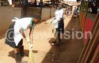 Pallisa town relies on volunteers to clean town