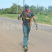 Climate change campaigners walk 10kms across Mabira