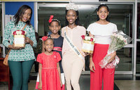 Miss Uganda North America jets in to promote tourism