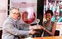 Ugandan youth scoops HIV/AIDS award