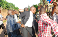 Lukwago arrested, Besigye's home sieged