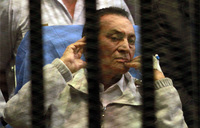 Egypt court drops murder charge against Mubarak