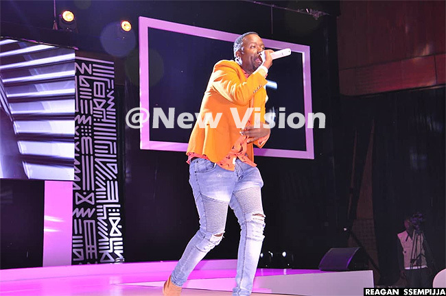 dwin uyonga performing at the just concluded iss ourism crowning ile photo