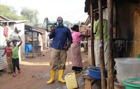 Coronavirus: Kansanga chairman takes the battle to people