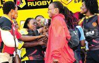 Rugby: Women shine as men slump