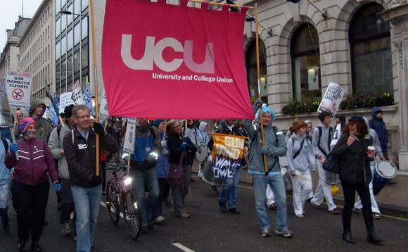 The UCU will begin balloting members on 9 September