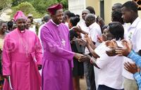Archbishop at Ntagali on pastoral tour of Luwero, Nakaseke