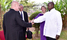 Museveni meets Bridgin Foundation team