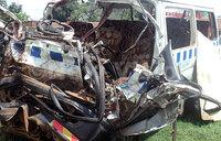Three killed in Luwero-Nakasongola road accident