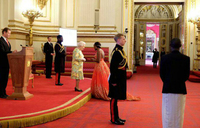 Queen honours Ugandan youth for innovations