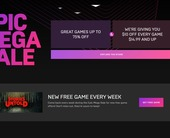 The Epic Mega Sale tempts PC gamers with weekly freebies and $10 off any game over $15