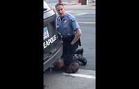 Officers sacked in US after black man dies as policeman kneels on neck