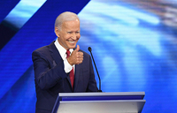 Biden fights off rivals in Democratic 2020 debate
