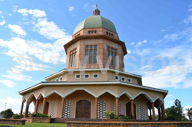 he ahai emple at ikaaya anyanya in ampala where the celebrations of the icentenary of the ab were held