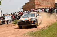 Masaka rally: Ashraf eyeing podium finish