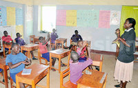 Children with disabilities left out of universal primary education