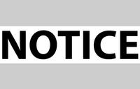 Notice from Amuru district