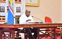 Museveni says vigilance needed to fight crime
