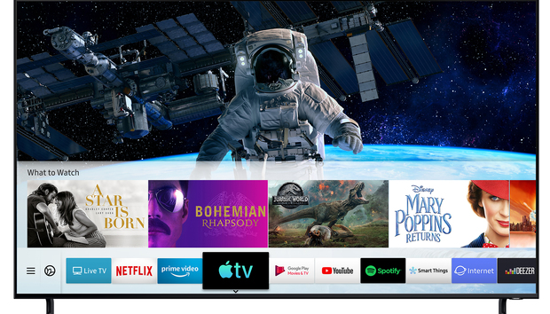 Apple TV app arrives on Samsung Smart TVs as Apple expands its services push