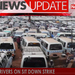 Taxi drivers on sit down strike
