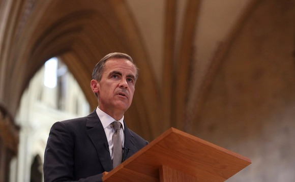 Governor of the BoE Mark Carney