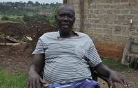 He learnt breeding larvae in Europe, he is implementing it in Uganda