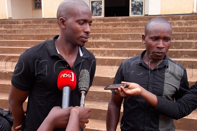 elatives of the deceased speaking to the media after the sentencing the convicts hoto by ouglas ubiru