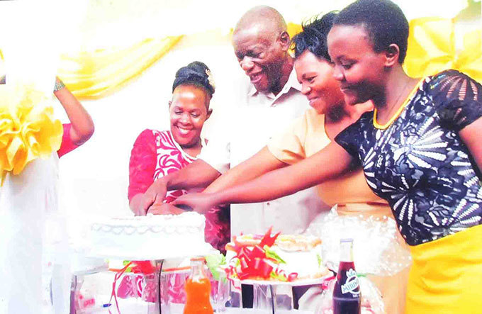 rom left alubowa celebrating her birthday after she had improved from the sickness