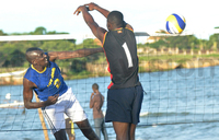 Kato, Ongom win first National Beach Volleyball Tour