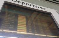 Sunday's Entebbe airport flights