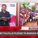 Around Uganda: President fulfills pledge to Bududa victims