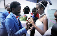 UBC's Calvin da entertainer weds