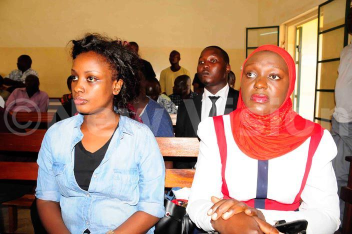 inger eila ayondo in court in akindye where she she stood surity of her husband  buga who was charged with assault against her an 052016 hoto by ddie sejjoba
